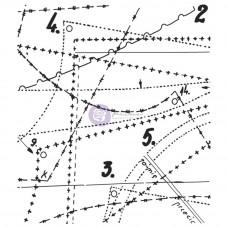 Акриловый штамп Выкройки (VV2X2 60780)