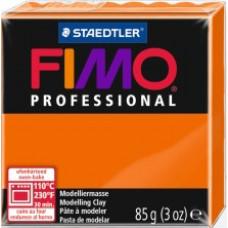 Полимерная глина Fimo Professional Soft, оранжевый (8004 4)
