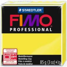 Полимерная глина Fimo Professional Soft, лимонно-желтый (8004 1)