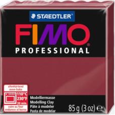 Полимерная глина Fimo Professional Soft, бордовый (8004 23)