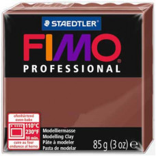 Полимерная глина Fimo Professional Soft, шоколад (8004 77)