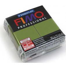 Полимерная глина Fimo Professional Soft, зеленый лист (8004 57)