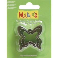 Набор форм для резки пластика Бабочка (M360 9)