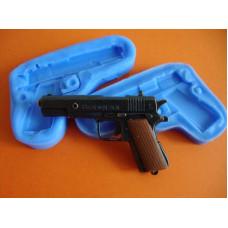 3Д Силиконовый молд Пистолет (419)