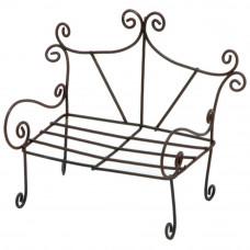 Миниатюрная садовая лавочка (6612-030)
