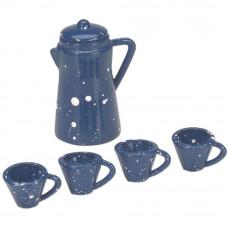 Миниатюрный кофейник и чашки (2301-09)