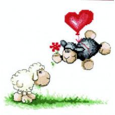 Набор для вышивания крестиком Чарівна мить С любовью! (А-035 - М-73)