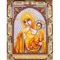Набор для вышивания крестиком Чарівна мить Икона Отрада (Утешение) (394)