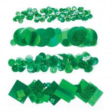 Набор пайеток Зеленый яркий, 200 шт. (SEQD 143)