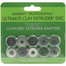 Набор дисков для экструдера Makins Professional Ultimate Clay Extruder Discs Set C (35163)