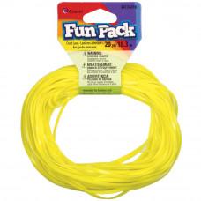 Пластиковый шнур желтый, 18 м.(34216)