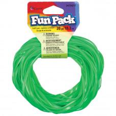 Пластиковый шнур зеленый, 18 м.(34217)