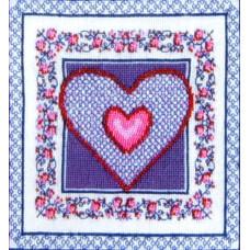 Набор для вышивания крестиком Чарівна мить Сердце (СТ-25)