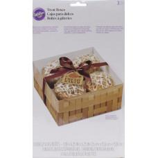 Коробка подарочная Свежая выпечка, 3 шт.(W3054)