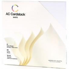 Листы белого картона American Crafts (AC71259)