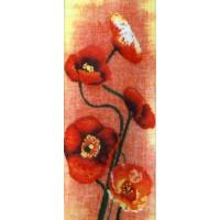 Набор для вышивания крестиком Чарівна мить Маки (РК-020)