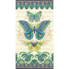 Набор для вышивания Dimensions Павлиньи бабочки (70-35323)