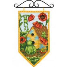 Набор для вышивания крестом Dimensions Баннер Лето (72-74134)