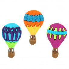 Набор пуговиц-украшений Воздушные шары (6969)