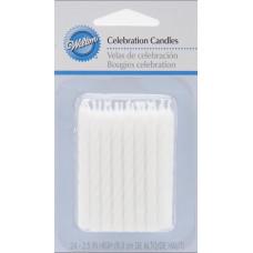 Свечи белые, 24 шт.(W2811207)