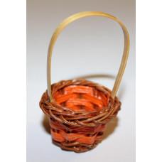 Миниатюрная корзинка Only оранжевая (15965)