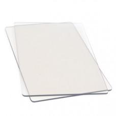Пластина прозрачная для вырезания CUTTING PAD Standard (1 пара), Sizzix (655093)