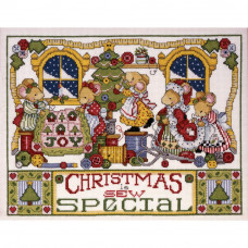 Christmas Is Sew Special Counted - Подготовка к Рождеству (DW5444)