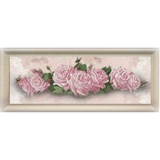 Набор для вышивания крестом Краса і творчість Цветочный реверанс (20914)