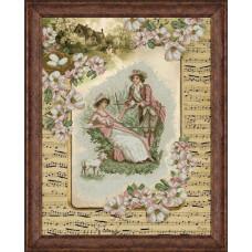 Набор для вышивания крестом Краса і творчість Деревенские истории 2 (20814)