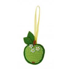 Набор для вышивания бисером Риолис Зеленое яблочко (1482АС)