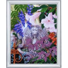 Фонтан в саду (229)