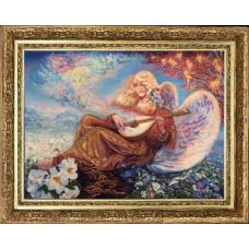 Ангельский мотив (по картине J. Wall) (453)