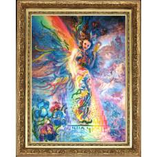 Ирис хранительница радуги (по карт. Дж. Уолл) (461)