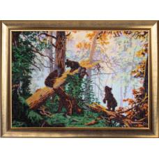 Утро в сосновом лесу (по картине И. Шишкина) (594)