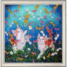 Котята и стрекозы (600)