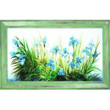 Голубые ирисы (М-192)*