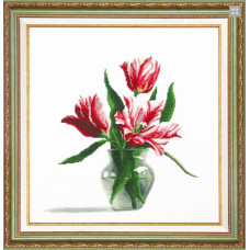 Красные тюльпаны (М-195)