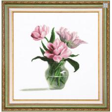 Розовые тюльпаны (М-200)