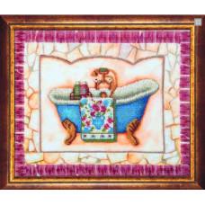 Набор для вышивания бисером Чарівна мить Купание (Б-706)