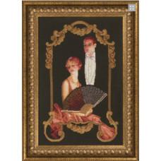 Набор для вышивания крестиком Чарівна мить Театральный сезон (М-160)