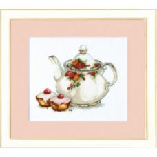 Набор для вышивания крестиком Чарівна мить За чаем (М-185)