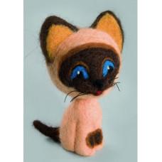 Набор для валяния Чарівна мить Добрый котик (В-141)