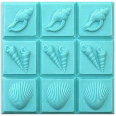 Форма для мыла (под нарезку) Shells (TR-3SHELL1594)