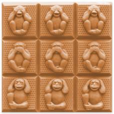 Форма для мыла (под нарезку) Wise Monkeys (TR-3WISMON1601)