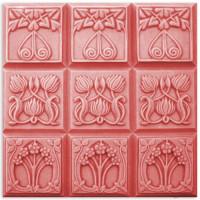 Форма для мыла (под нарезку) Tray-Nouveau Flowers (TR-NOUVFL1592)