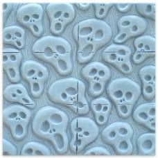 Форма для мыла (под нарезку) Tray-Spooks (TR-SPOOKS1600)