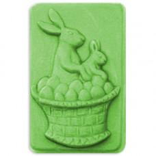 Форма для мыла Зайцы в корзинке (EGGSB1587)