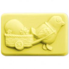 Форма для мыла Цыпленок с тележкой (EGGSB1587)