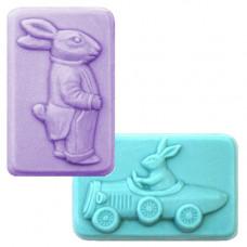 Формы для мыла 2 Gents, 4 шт. (2GENT1585)