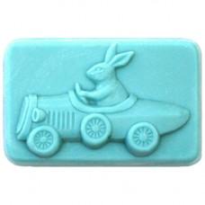 Форма для мыла Зайка в машине (2GENT1585)